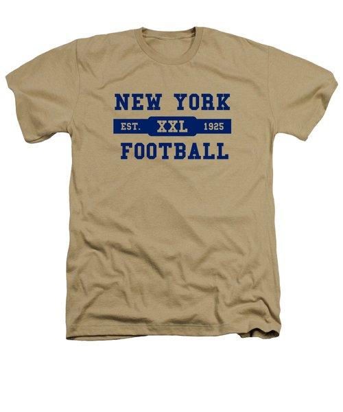 Giants Retro Shirt Heathers T-Shirt by Joe Hamilton