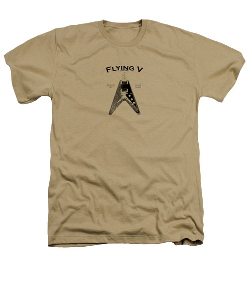 Gibson Flying V Heathers T-Shirt by Mark Rogan