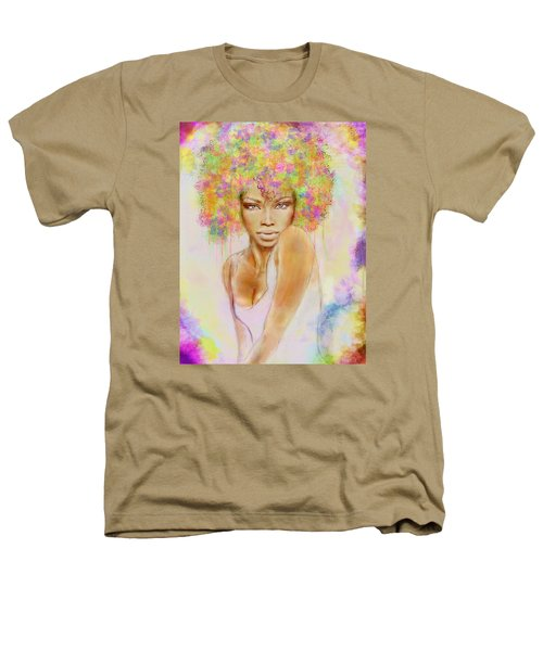 Girl With New Hair Style Heathers T-Shirt by Lilia D