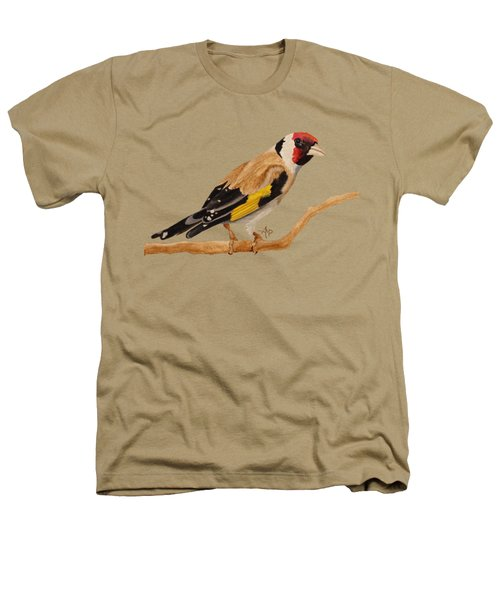 Goldfinch Heathers T-Shirt by Angeles M Pomata
