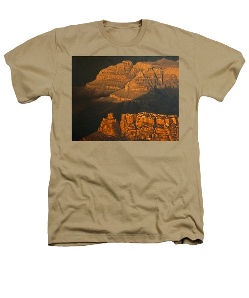 Grand Canyon Meditation Heathers T-Shirt by Jim Thomas