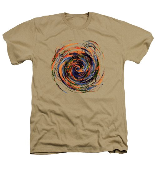 Gravity In Color Heathers T-Shirt by Deborah Smith
