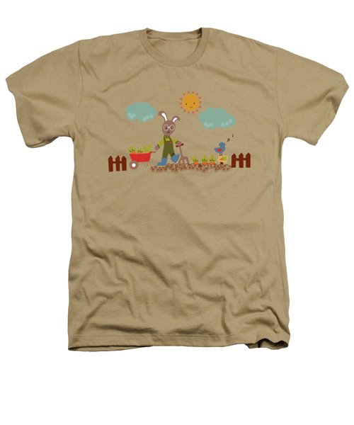 Harvest Time Heathers T-Shirt by Kathrin Legg