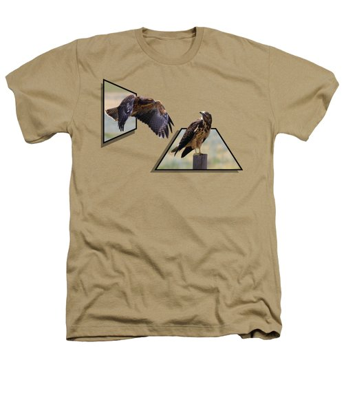 Hawks Heathers T-Shirt by Shane Bechler