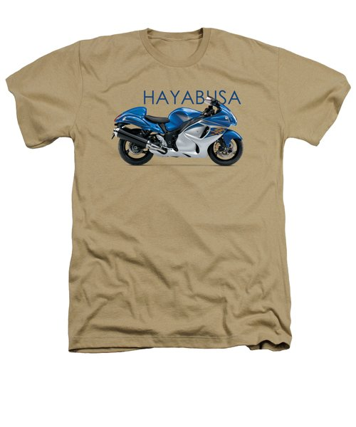 Hayabusa In Blue Heathers T-Shirt by Mark Rogan