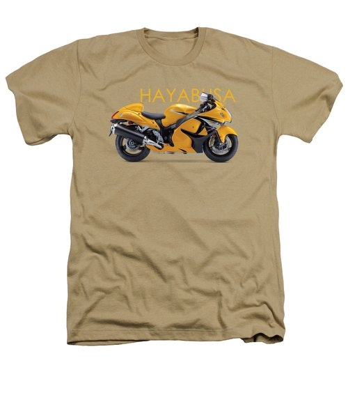 Hayabusa In Yellow Heathers T-Shirt by Mark Rogan
