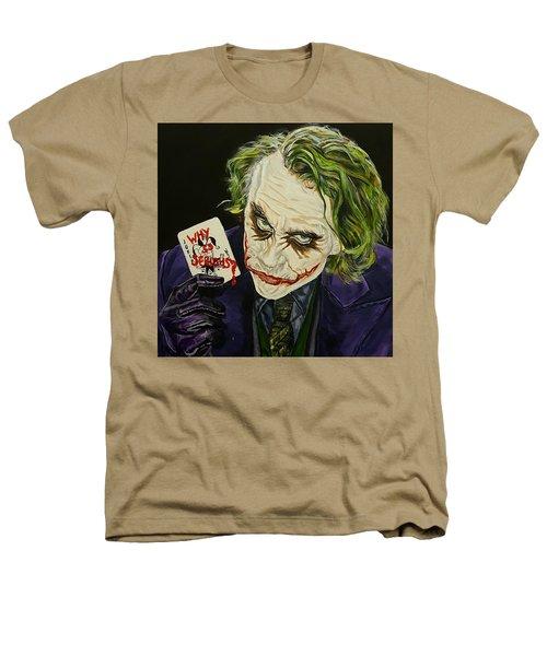 Heath Ledger The Joker Heathers T-Shirt by David Peninger
