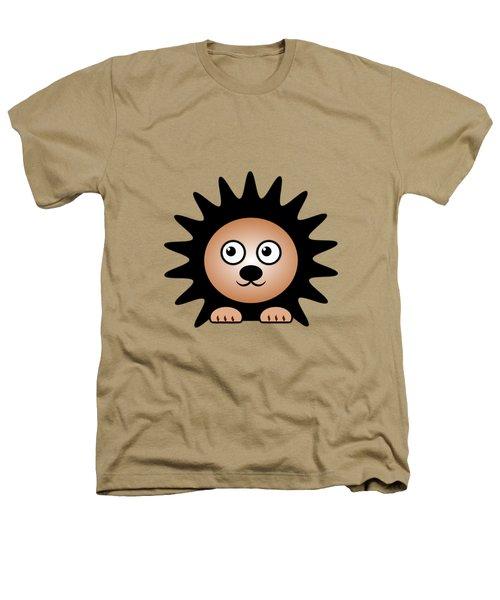 Hedgehog - Animals - Art For Kids Heathers T-Shirt by Anastasiya Malakhova