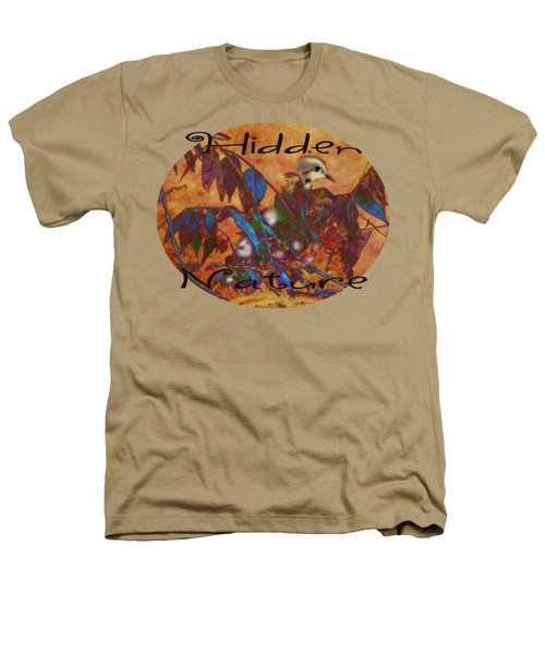 Hidden Nature - Abstract Heathers T-Shirt by Anita Faye