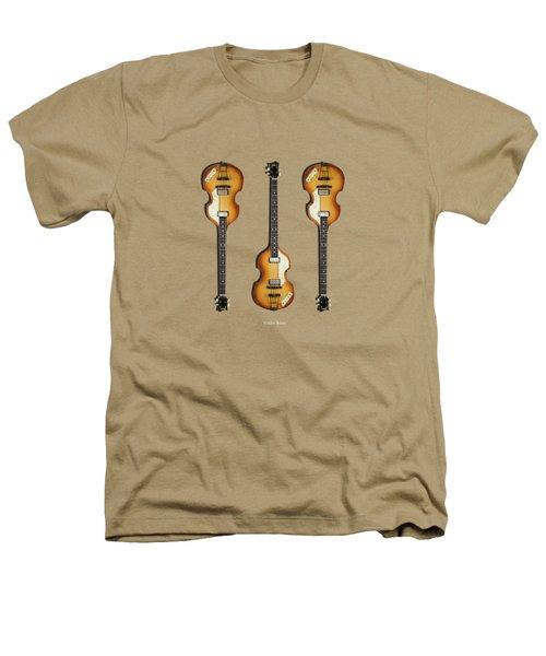 Hofner Violin Bass 62 Heathers T-Shirt by Mark Rogan