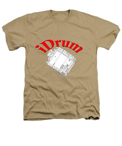 iDrum Heathers T-Shirt by M K  Miller