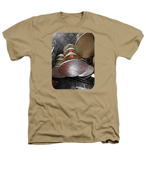 Incense Trays Heathers T-Shirt by Ethna Gillespie