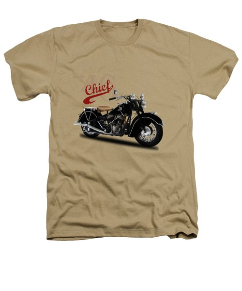 Indian Chief 1946 Heathers T-Shirt by Mark Rogan