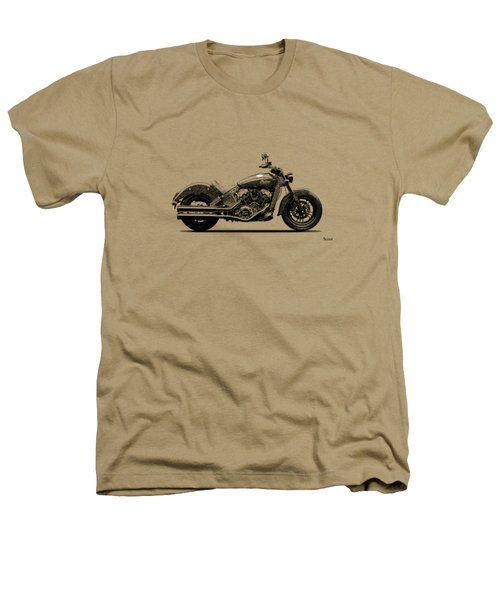 Indian Scout 2015 Heathers T-Shirt by Mark Rogan