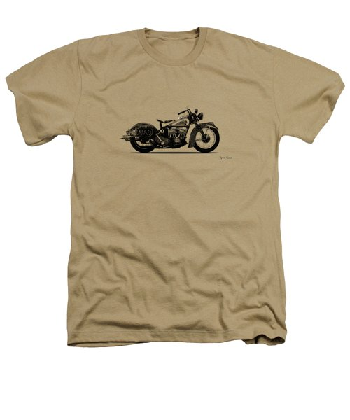 Indian Sport Scout 1939  Heathers T-Shirt by Mark Rogan