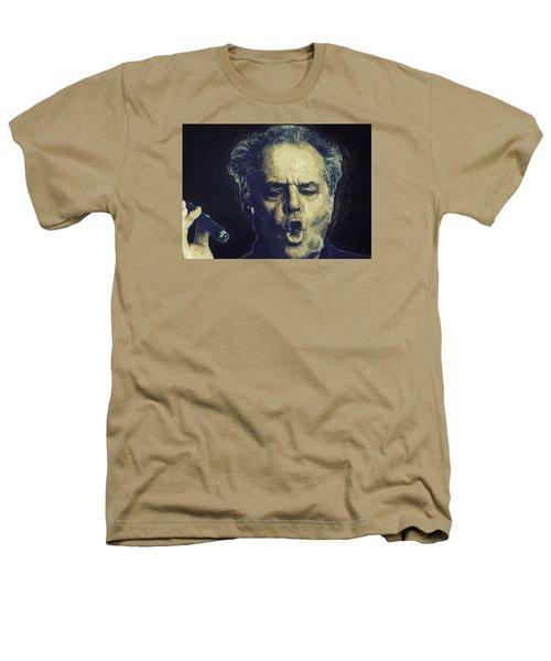 Jack Nicholson 2 Heathers T-Shirt by Semih Yurdabak
