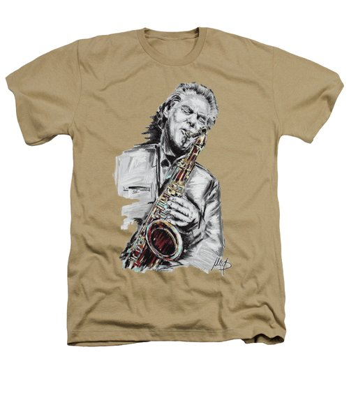 Jan Garbarek Heathers T-Shirt by Melanie D