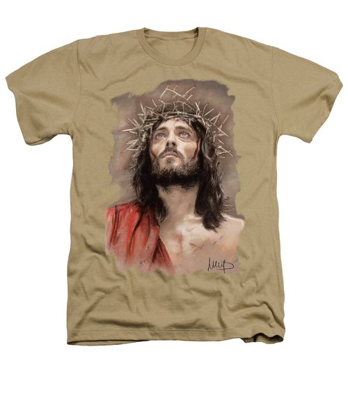 Jesus  Heathers T-Shirt by Melanie D