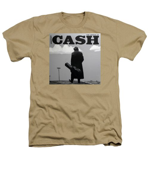 Johnny Cash Heathers T-Shirt by Tom Carlton
