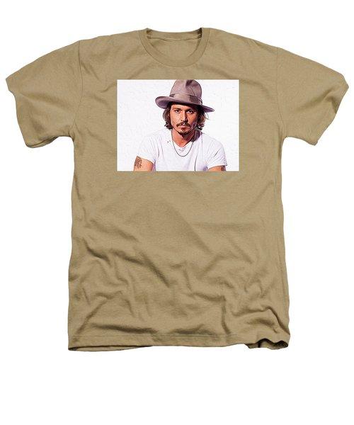 Johnny Depp Heathers T-Shirt by Iguanna Espinosa