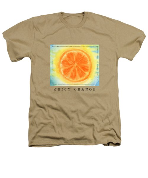 Juicy Orange Heathers T-Shirt by Kathleen Wong