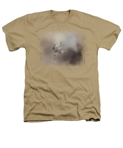 Just A Whisper Of Feathers Heathers T-Shirt by Jai Johnson