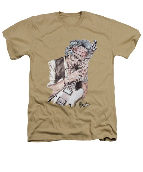 Keith Richards Heathers T-Shirt by Melanie D