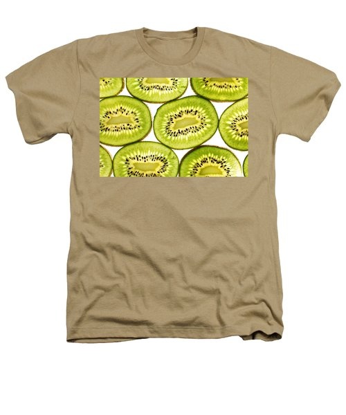 Kiwi Fruit II Heathers T-Shirt by Paul Ge