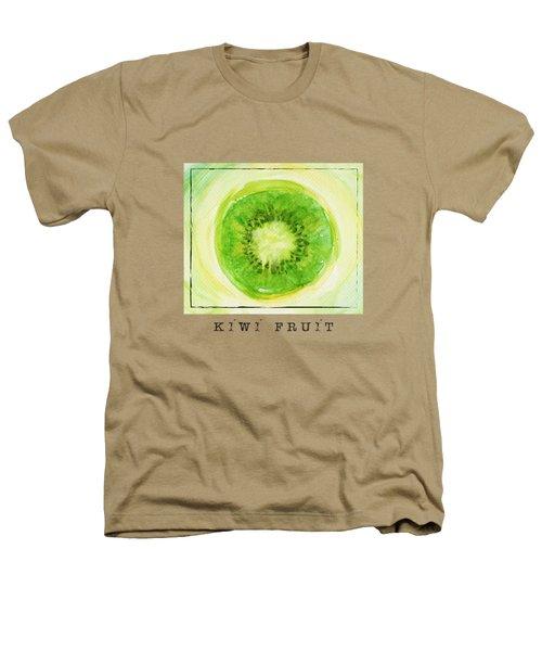 Kiwi Fruit Heathers T-Shirt by Kathleen Wong