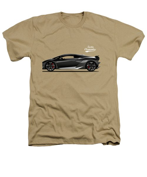 Lamborghini Sesto Elemento Heathers T-Shirt by Mark Rogan