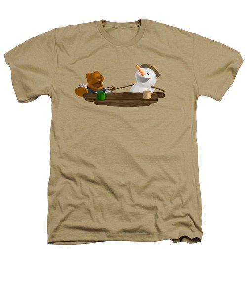 Laughter Heathers T-Shirt by Jason Sharpe
