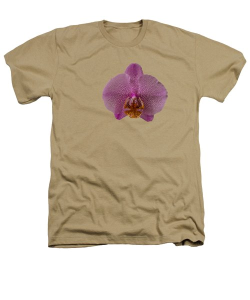 Leopard Prince Phalaenopsis Orchid Heathers T-Shirt by Zina Stromberg