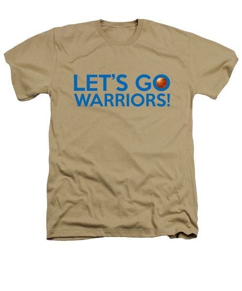 Let's Go Warriors Heathers T-Shirt by Florian Rodarte