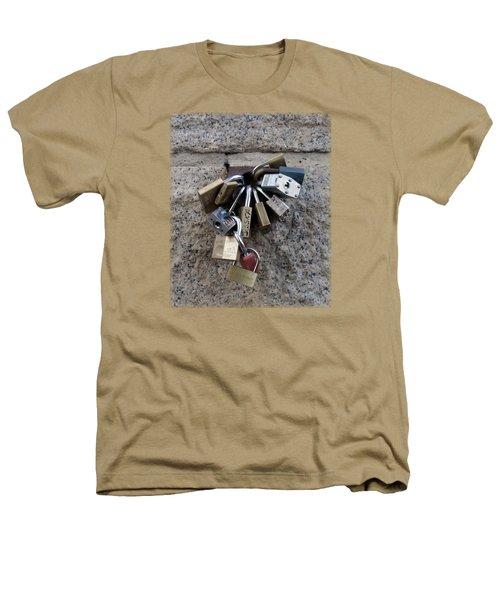 Locked Heathers T-Shirt by Sinder Singh
