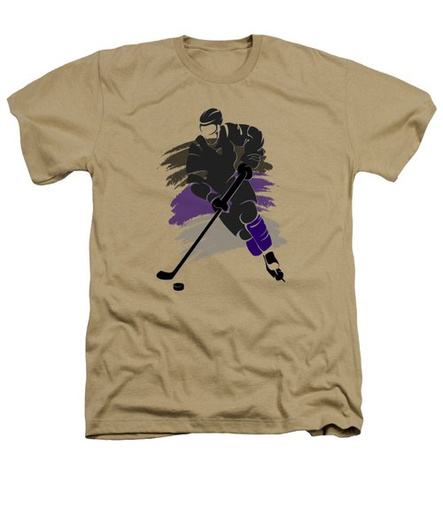 Los Angeles Kings Player Shirt Heathers T-Shirt by Joe Hamilton