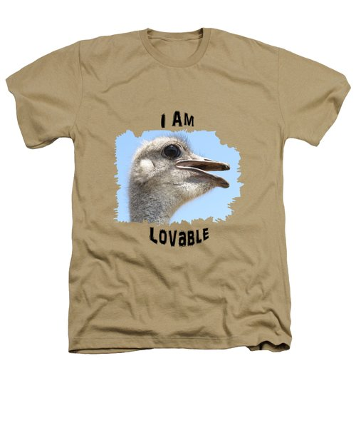 Lovable Heathers T-Shirt by Judi Saunders