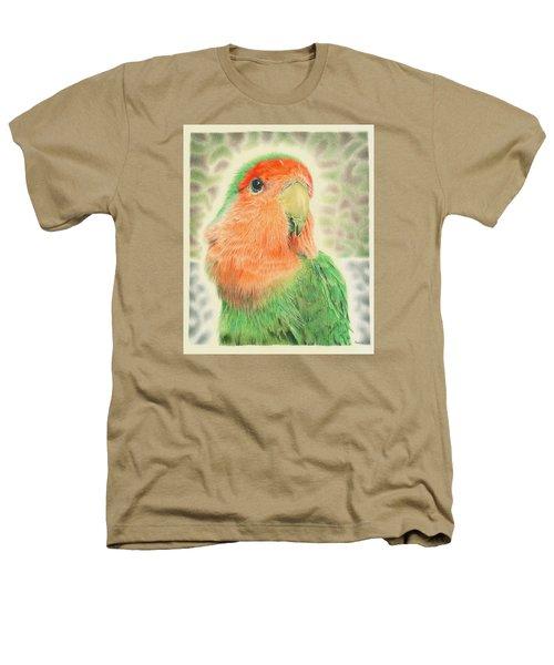 Lovebird Pilaf Heathers T-Shirt by Remrov