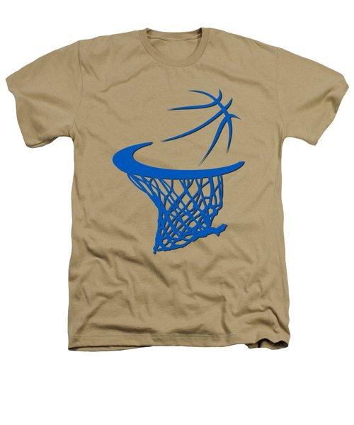 Magic Basketball Hoop Heathers T-Shirt by Joe Hamilton