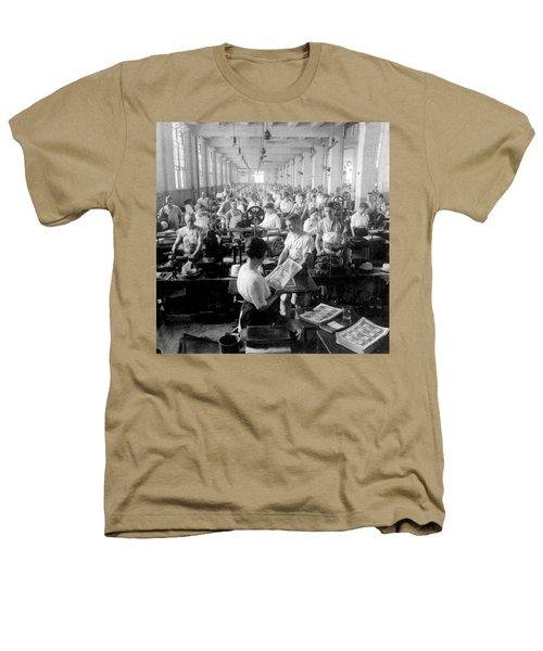 Making Money At The Bureau Of Printing And Engraving - Washington Dc - C 1916 Heathers T-Shirt by International  Images