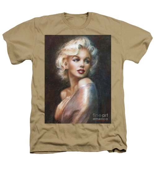 Marilyn Ww Soft Heathers T-Shirt by Theo Danella