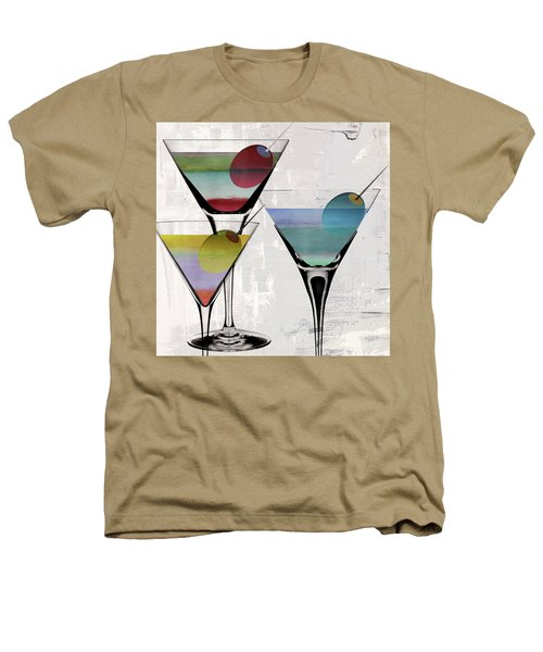 Martini Prism Heathers T-Shirt by Mindy Sommers