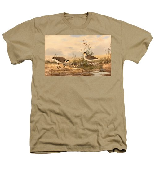 Masked Lapwing Heathers T-Shirt by Mountain Dreams
