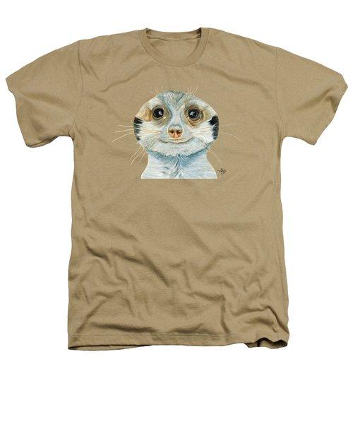 Meerkat Heathers T-Shirt by Angeles M Pomata