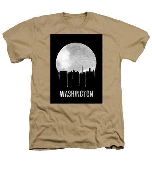 Memphis Skyline Black Heathers T-Shirt by Naxart Studio