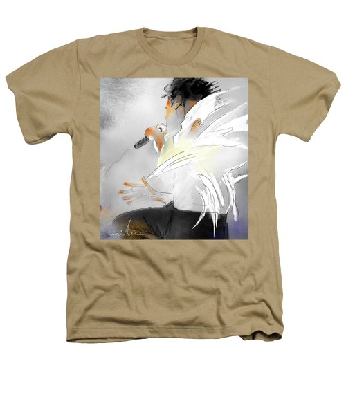 Michael Jackson 08 Heathers T-Shirt by Miki De Goodaboom
