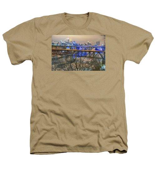 Minneapolis Bridges Heathers T-Shirt by Craig Voth