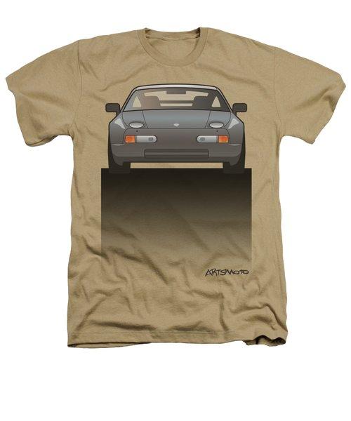 Modern Euro Icons Series Porsche 928 Gts Split Heathers T-Shirt by Monkey Crisis On Mars
