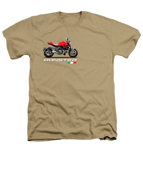 Monster 1200 Heathers T-Shirt by Mark Rogan