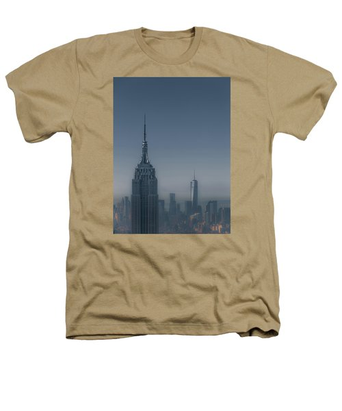 Morning In New York Heathers T-Shirt by Chris Fletcher