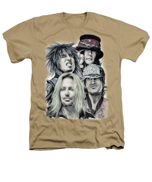 Motley Crue Heathers T-Shirt by Melanie D